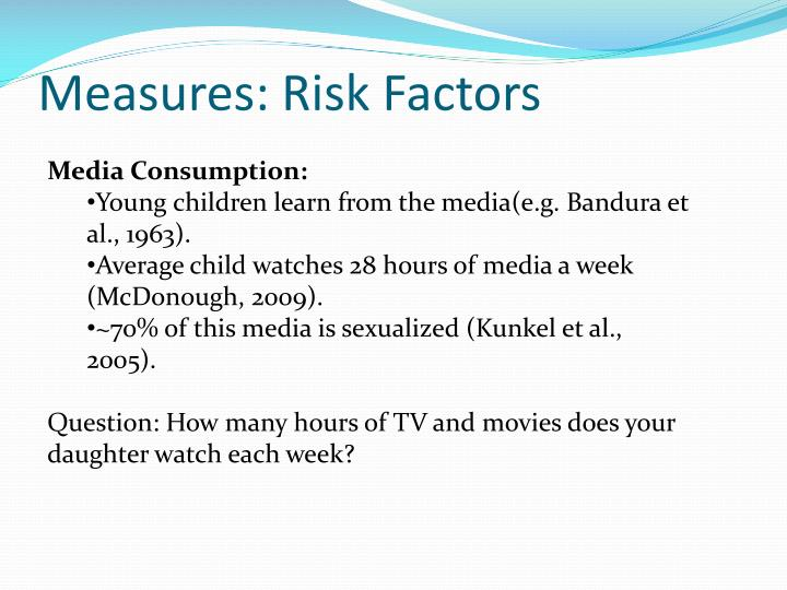 Measures: Risk Factors