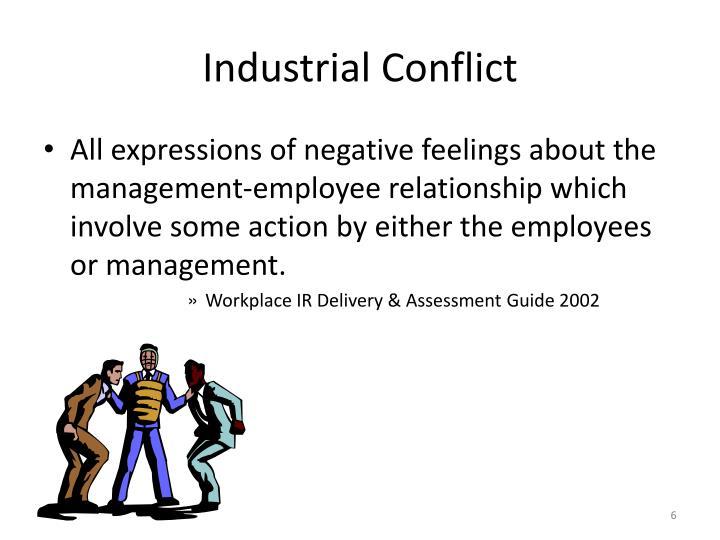Industrial Conflict