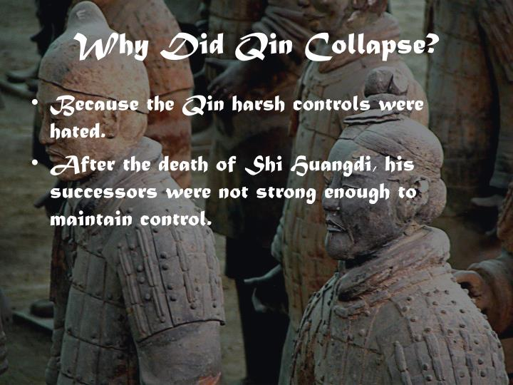 Why Did Qin Collapse?