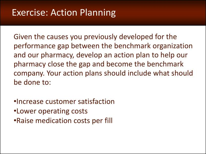 Exercise: Action Planning