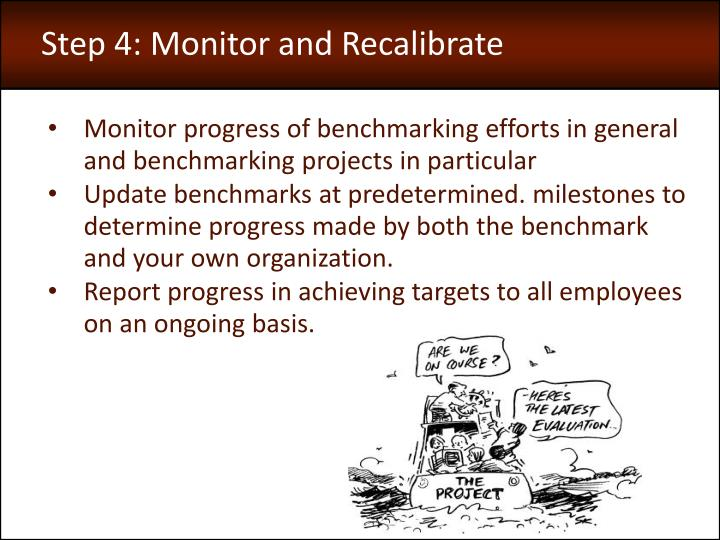Step 4: Monitor and Recalibrate