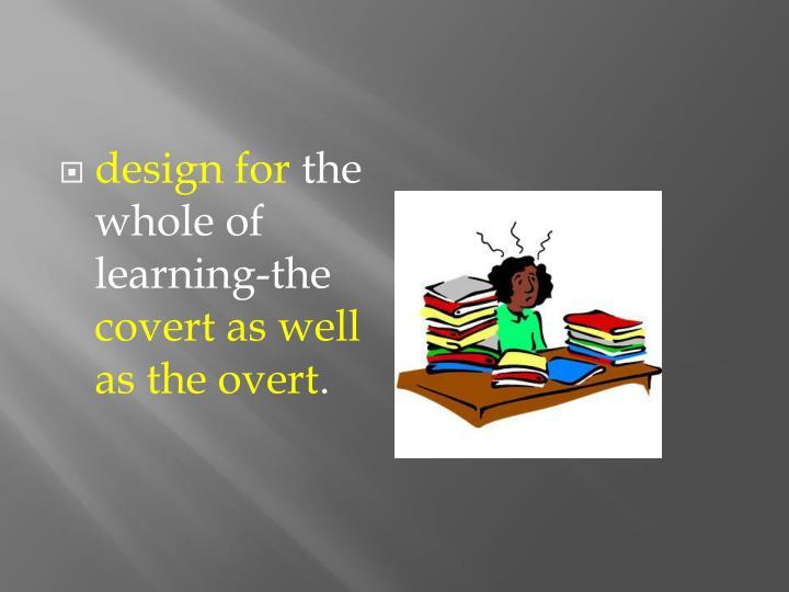 design for