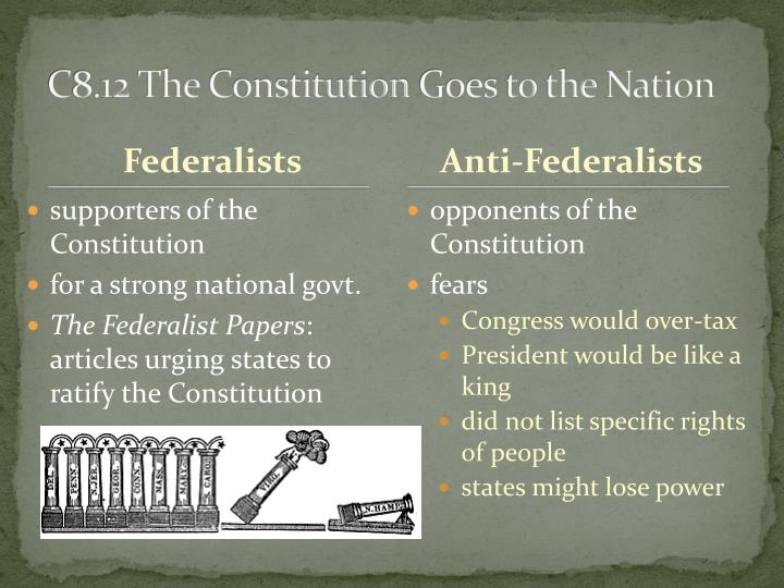 C8.12 The Constitution Goes to the Nation