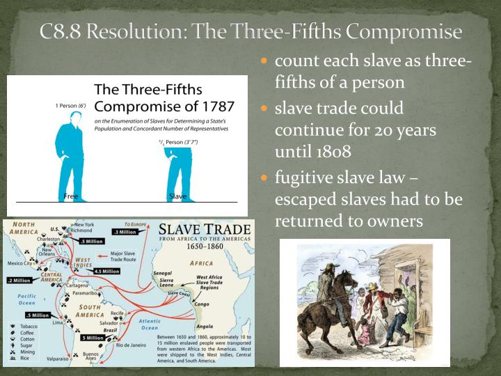 C8.8 Resolution: The Three-Fifths Compromise
