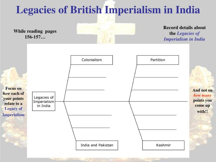 Legacies of British Imperialism in India