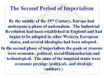 the second period of imperialism