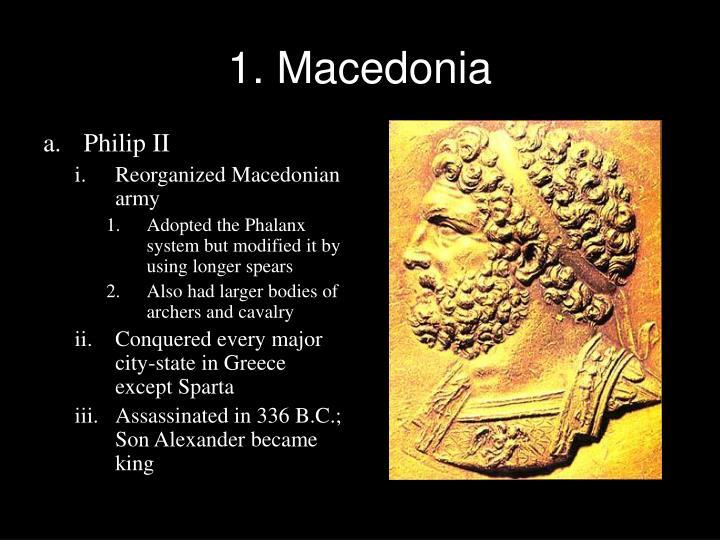 1. Macedonia