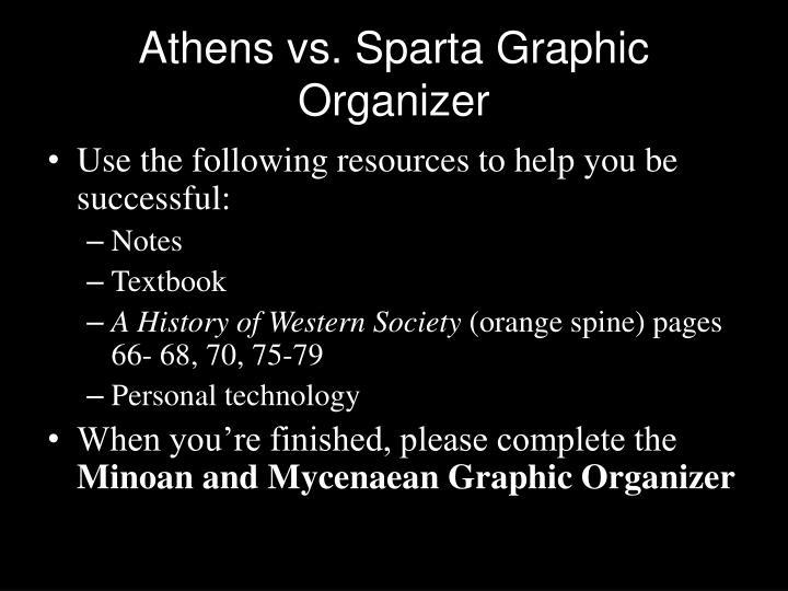 Athens vs. Sparta Graphic Organizer