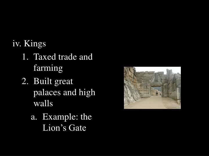iv. Kings
