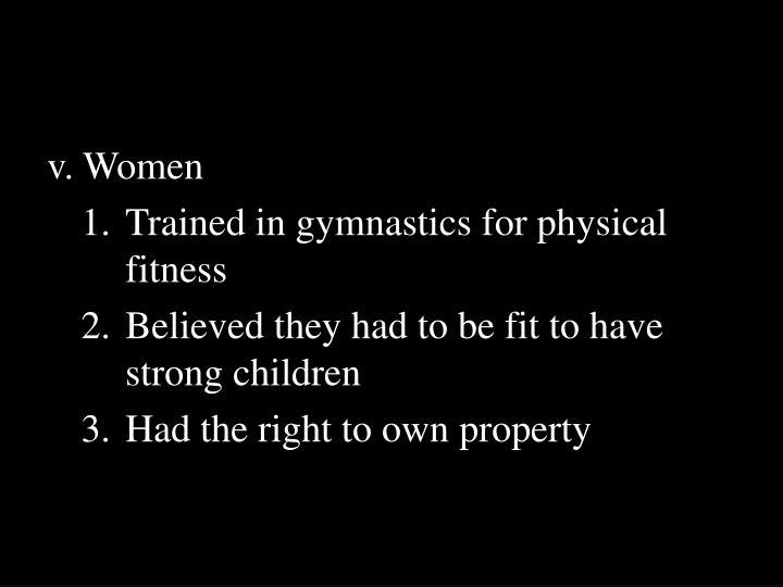 v. Women