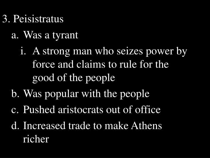3. Peisistratus