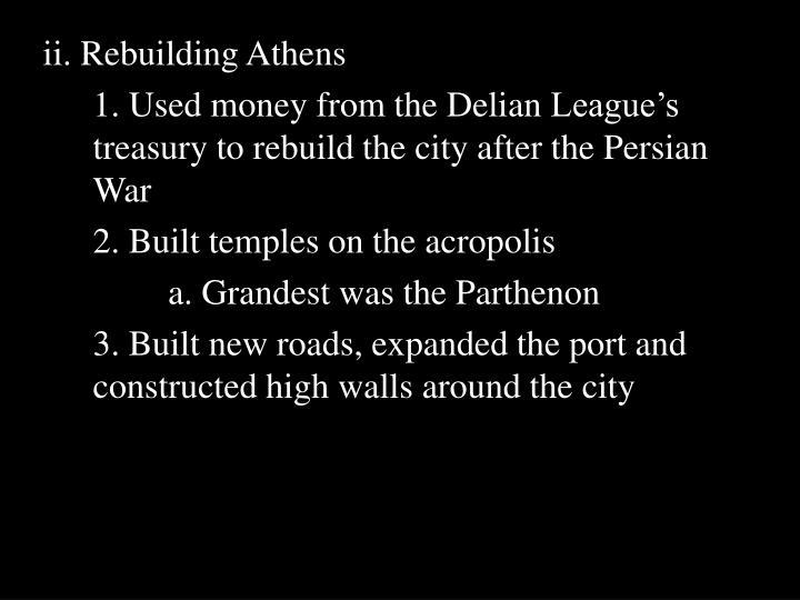 ii. Rebuilding Athens
