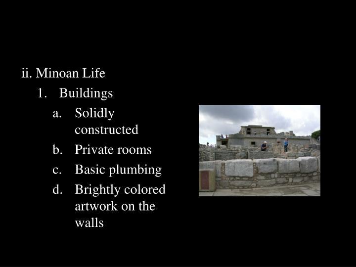 ii. Minoan Life