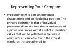 representing your company1