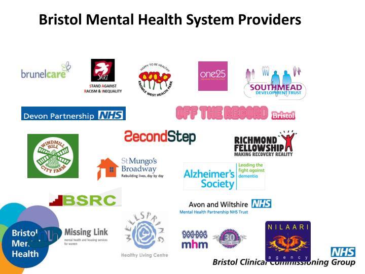 Bristol Mental Health System Providers