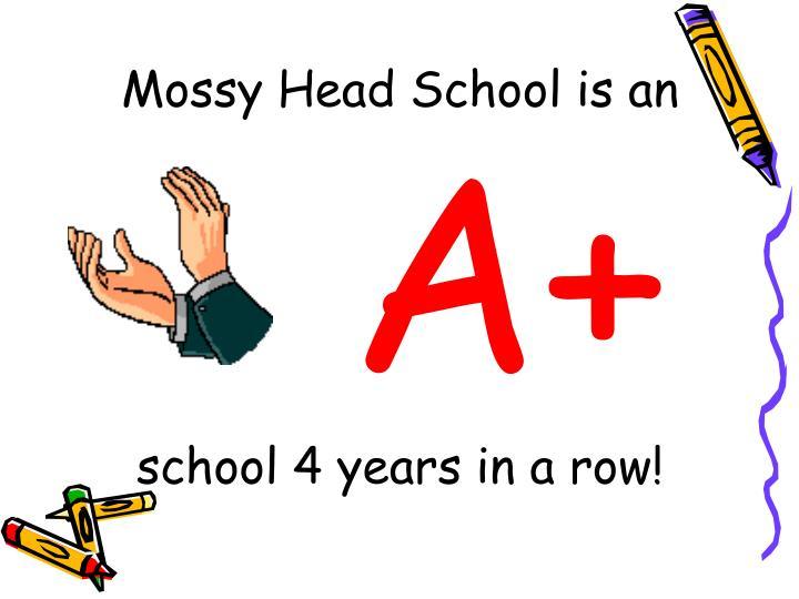 Mossy Head School is an