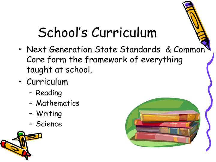 School's Curriculum
