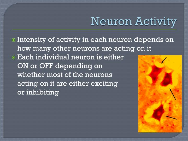 Neuron Activity