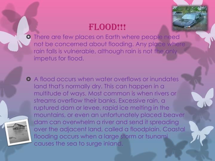 Flood!!!