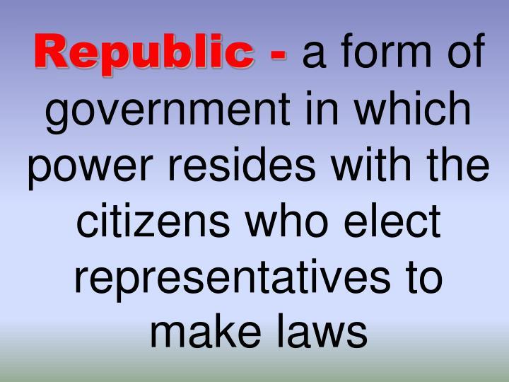 Republic -