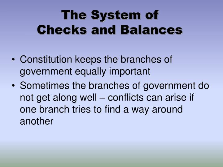 The System of
