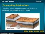 crosscutting relationships