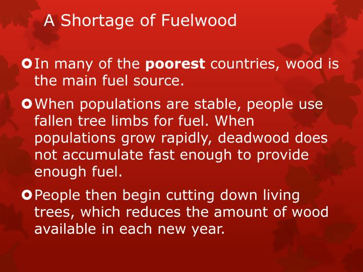 A Shortage of