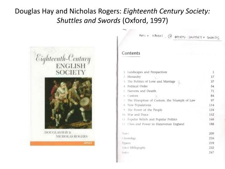 Douglas Hay and Nicholas Rogers:
