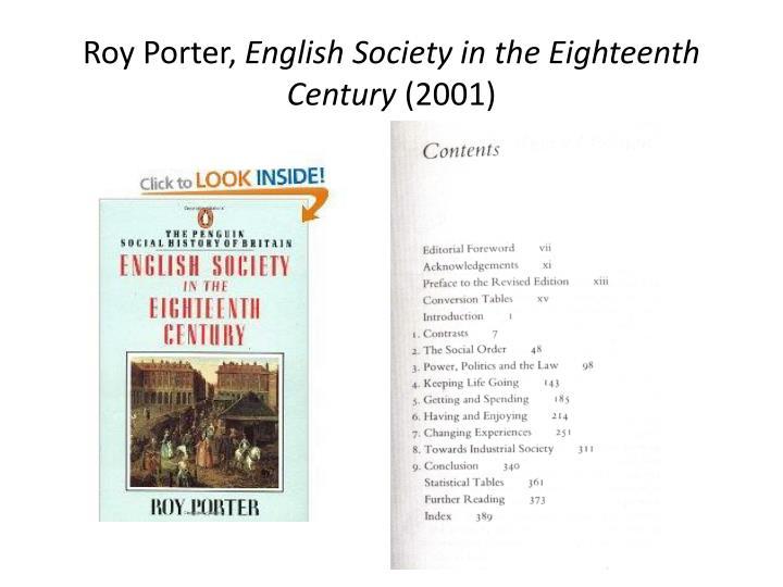 Roy Porter,