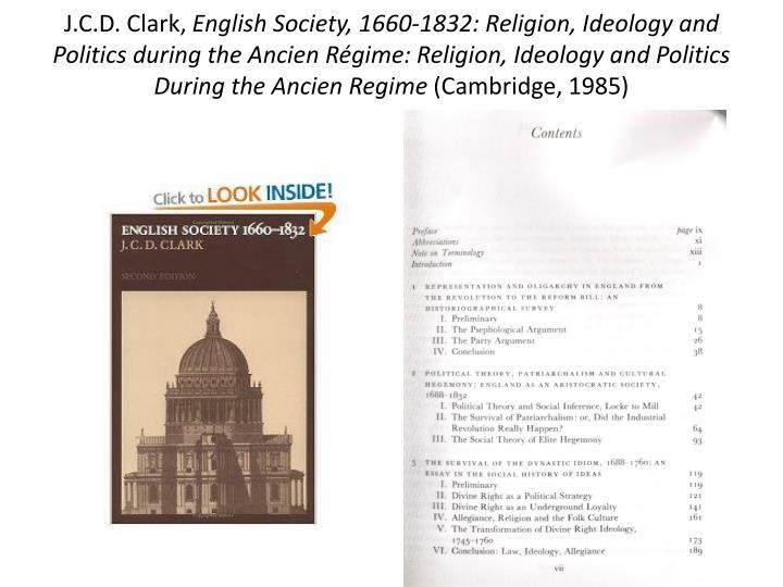 J.C.D. Clark,
