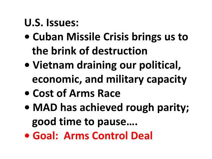 U.S. Issues: