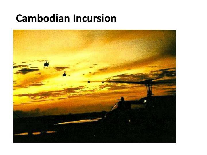 Cambodian Incursion