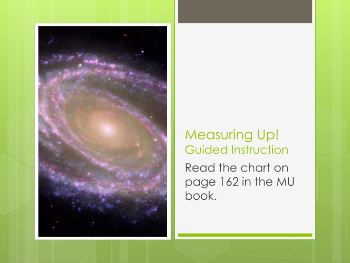 Measuring Up!