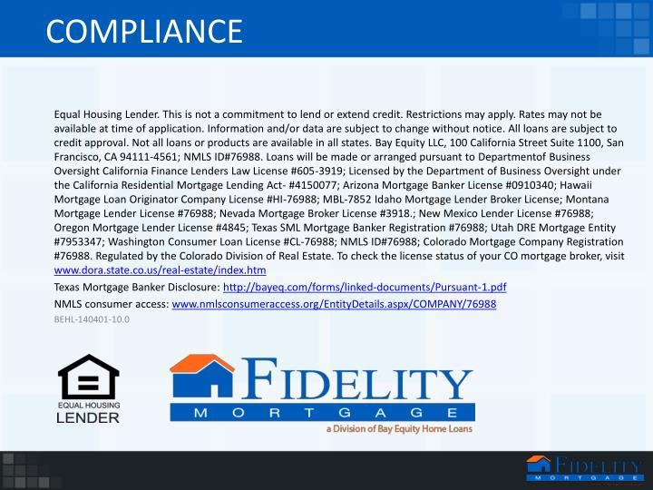 Oregon Real Estate Broker License : Ppt mortgage insurance powerpoint presentation id