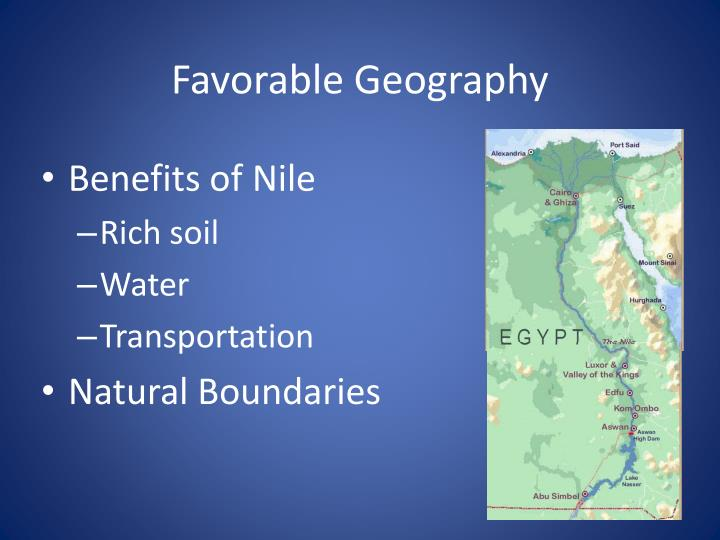 Favorable Geography