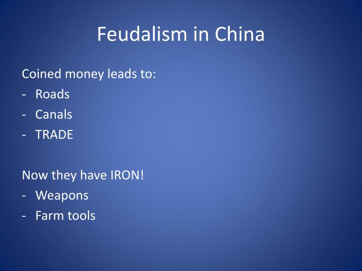 Feudalism in China