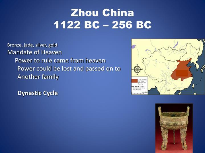 Zhou China