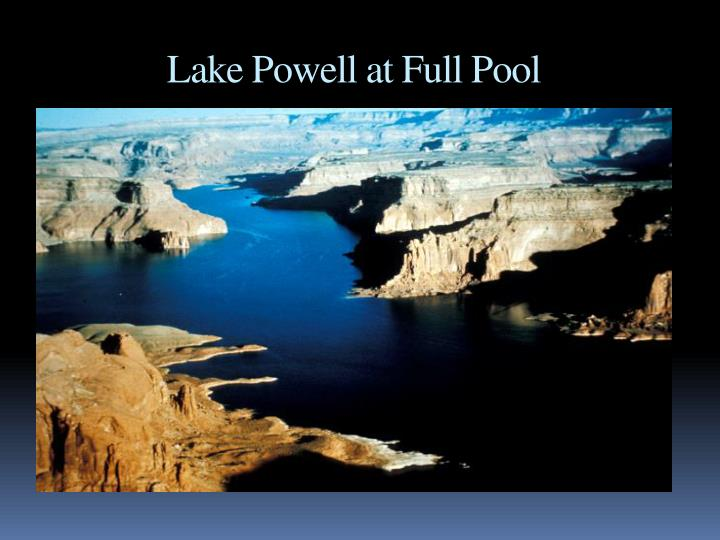 Lake Powell at Full Pool