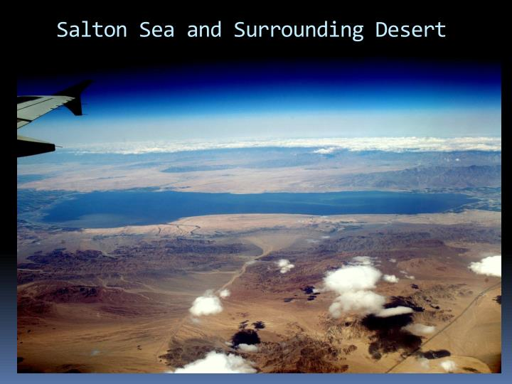 Salton Sea and Surrounding Desert