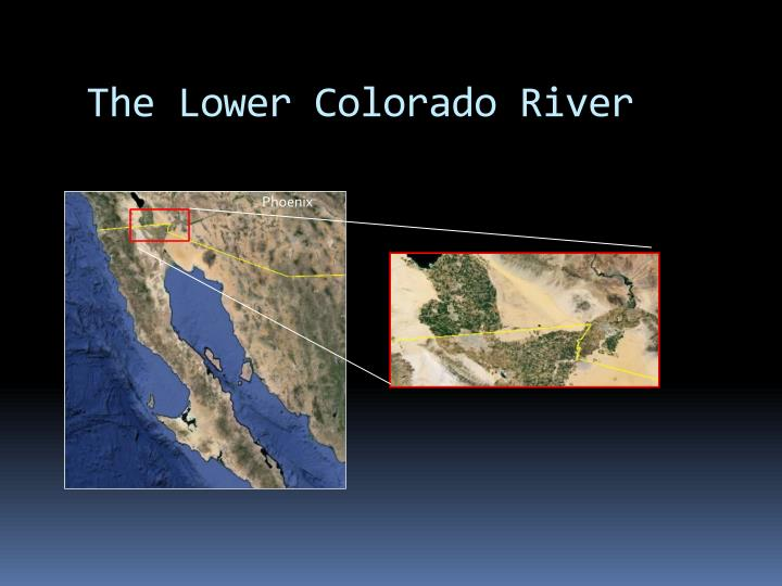 The Lower Colorado River