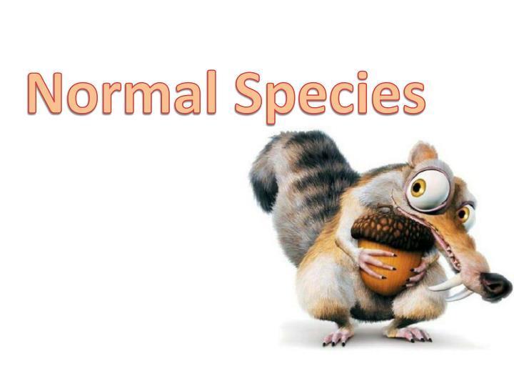 Normal Species