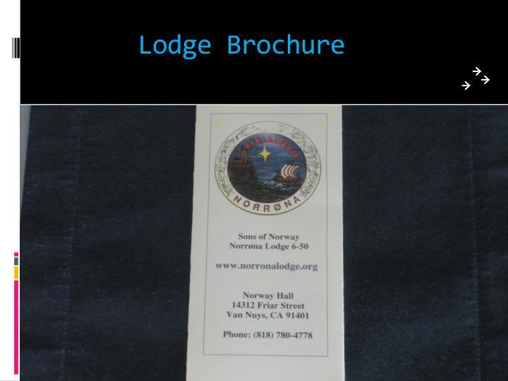 Lodge Brochure