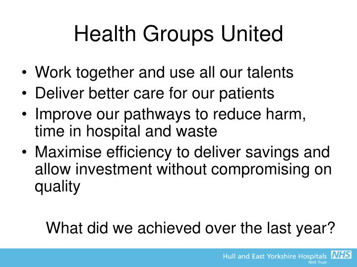 Health Groups United