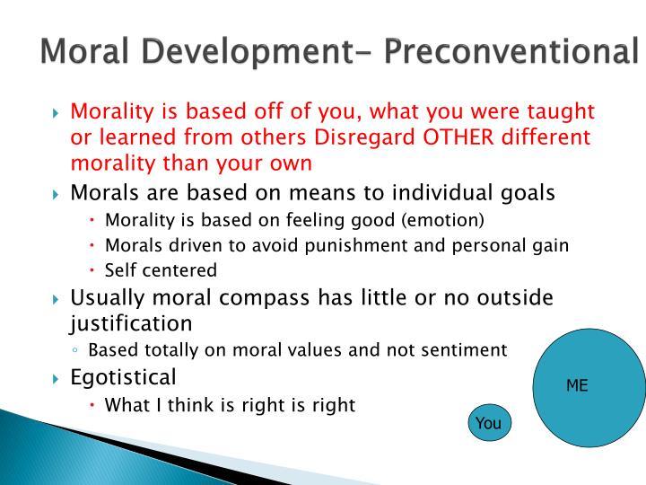 Moral Development-