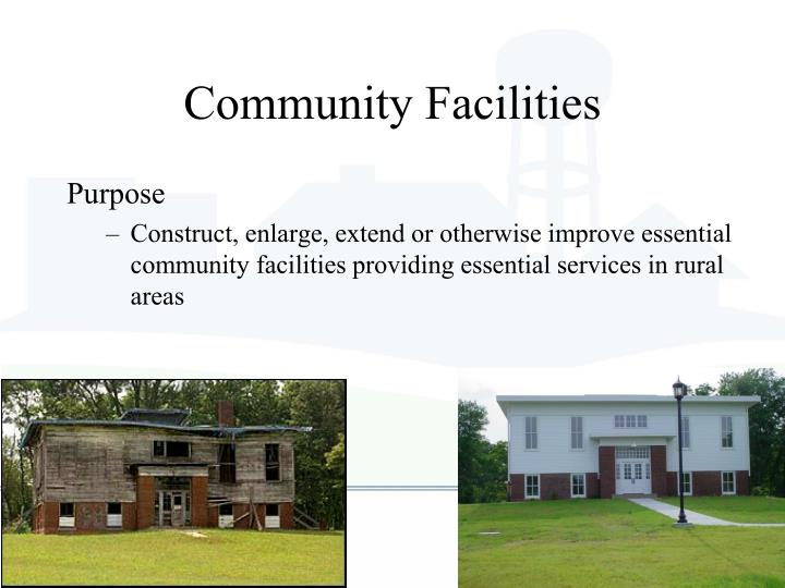 Community Facilities