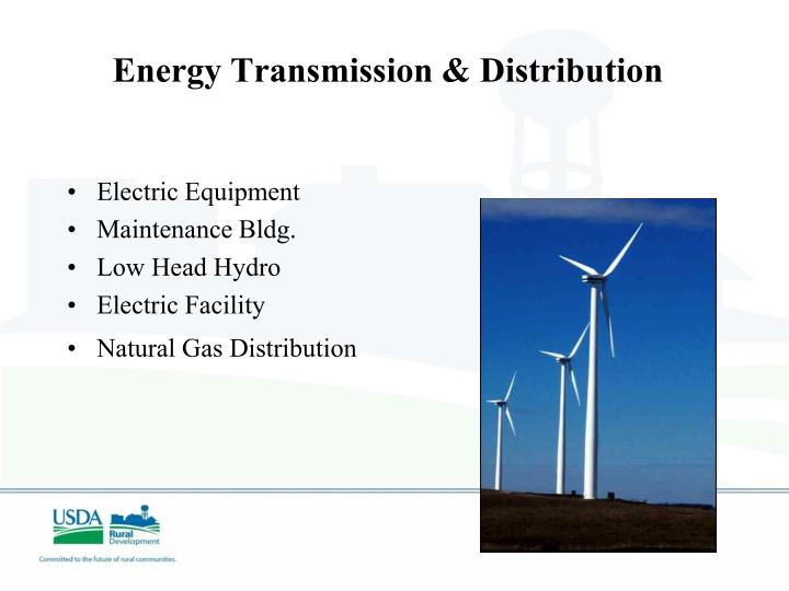 Energy Transmission & Distribution