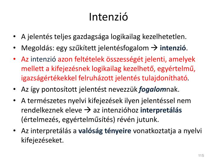Intenzió