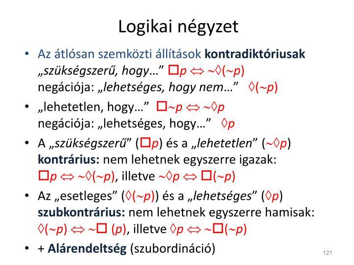 Logikai négyzet