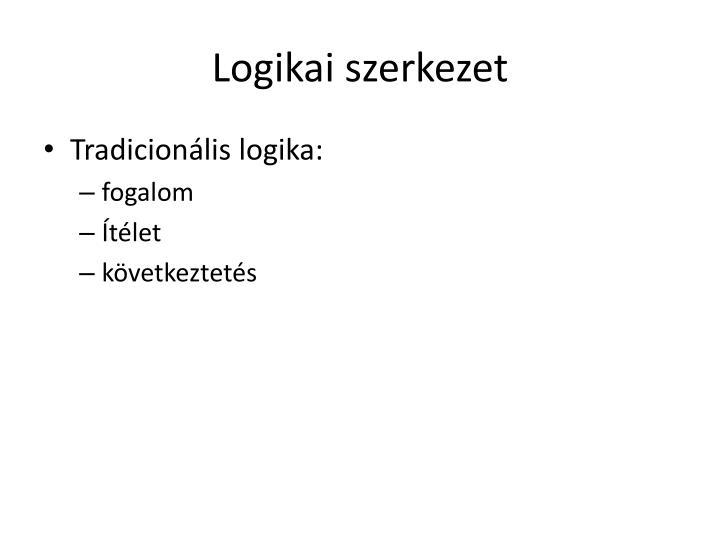 Logikai szerkezet