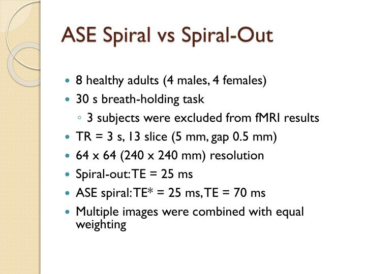 ASE Spiral